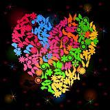Neon heart3