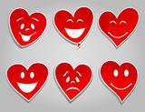 Smile hearts