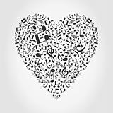 Musical heart2