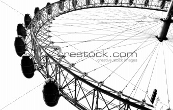 The London Eye in London