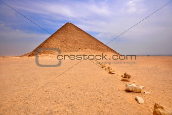 Red Pyramid , Dashur , Egypt
