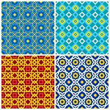 Four eastern geometric ornaments