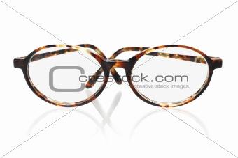 Old fashion eyeglasses