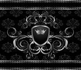 luxury vintage aluminum frame template