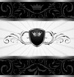 ornate dark decorative frame
