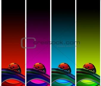 Ladybugs banners