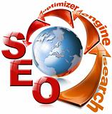 SEO red arrow - Search Engine Optimization Web