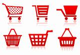 Icon of a food basket