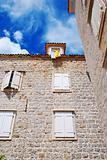Old stone town in Montenegro - Budva