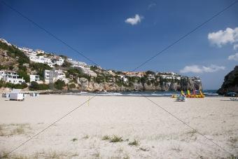 Cala Porter beach
