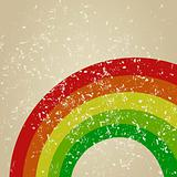 Retro a rainbow
