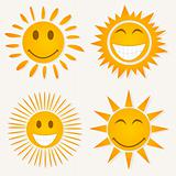 Sun smile