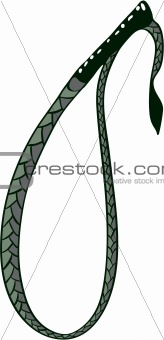 Horse whip illustration