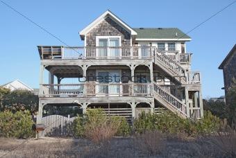 Beach house in North Carolina