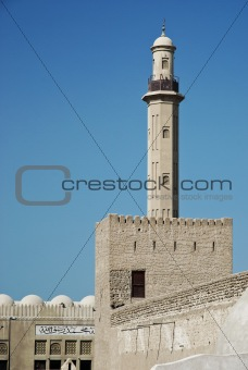 old dubai fort in united arab emirates