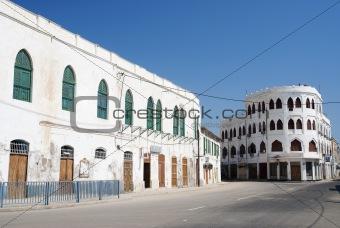 city center of massawa eritrea