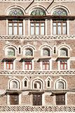 traditional yemeni windows in sanaa yemen