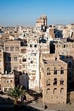 traditional architecture in sanaa yemen