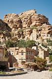 yemeni mountain village near sanaa yemen