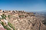 kawkaban mountain village near sanaa yemen