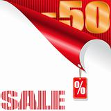 fifty-percent sale