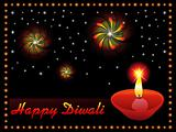 abstract diwali wallpaper