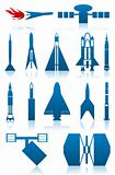 Icons of rockets