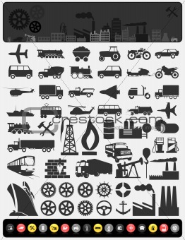 Industrial icons3