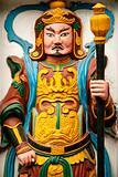 statue in temple in hanoi vietnam