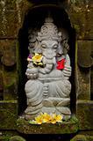 ganesh statue in bali indonesia
