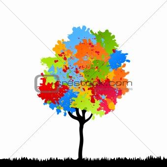 Tree a blot