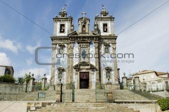 santo ildefonso church in porto portugal