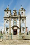 santo ildefonso church in porto portugal