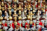 narguileh shisha water pipes in cairo egypt