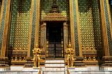 buddhist temple in grand palace bangkok thailand asia