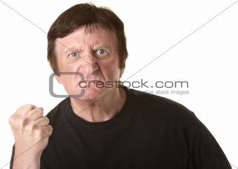 Angry Mature Man