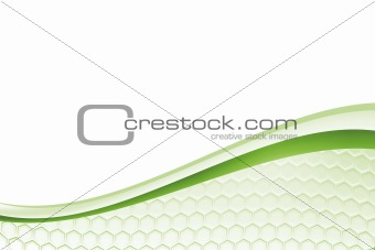 green honey background