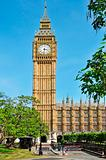 Big Ben and Westminster Palace, London, United Kingdom