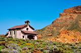 Shrine of Virgen de Las Nieves in Teide National Park, Canary Islands, Spain