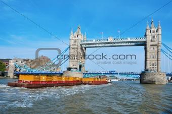 Tower Bridge in London, United Kingdom