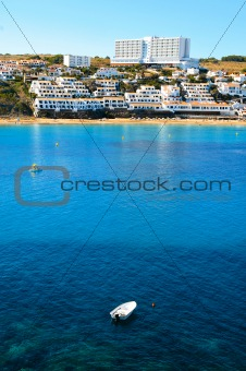 Arenal d'es Castell Beach in Menorca, Balearic Islands, Spain