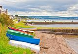 Boats at Findhorn