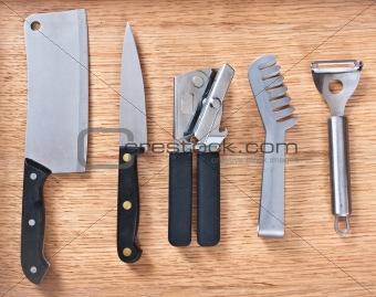 Kitchen implements