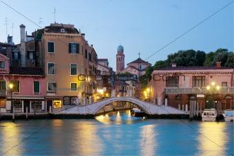 Bridge over tha canal
