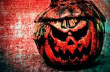 Halloween jack-o&#39;-lantern background