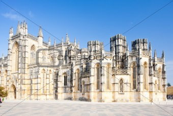 Monastery of Santa Maria da Vitoria, Batalha, Estremadura, Portugal