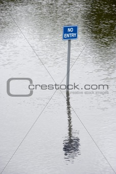 Water Flooding Roads