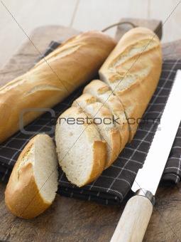 Sliced Baguette Sticks