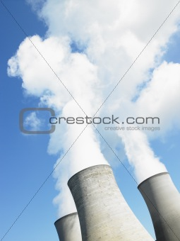 Smoke From Industrial Plant