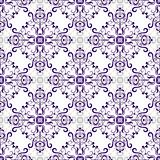 White seamless pattern with rhombuses